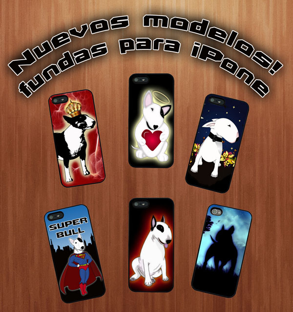 fundas iPhone bull terrier